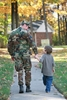 How can you prepare your children for your deployment?
