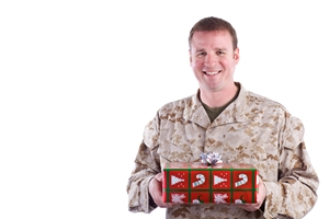 Soldiers have celebrated Christmas in different ways throughout history.
