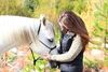 Equine therapy may help lessen the symptoms of PTSD.