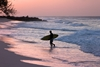 On March 17, 25 veterans from San Diego, California took to the waves at San Onofre Beach near Camp Pendleton for the first day of a weekend-long surfing clinic.