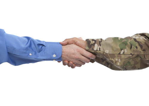 Joining community groups can help veterans reconnect with civilian life.