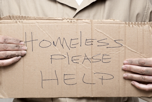 Events around the country are helping veterans who have become homeless.