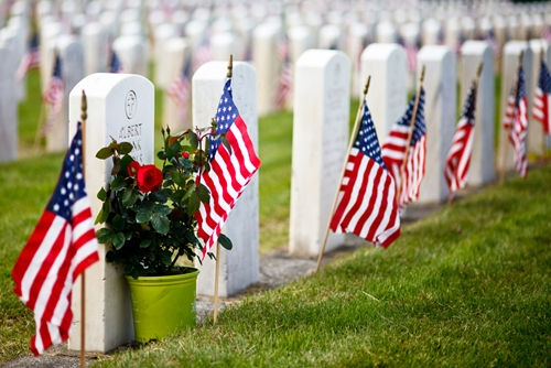 Honoring veterans who have died is an important duty.