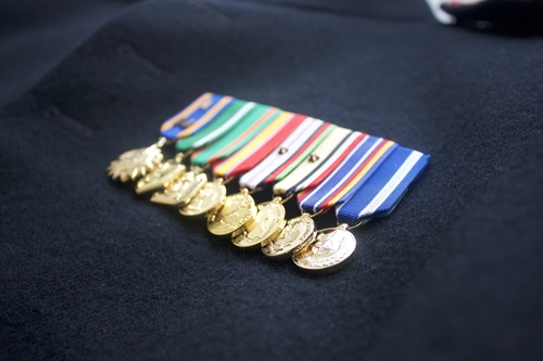 Honoring World War II service through medals and memories is important.